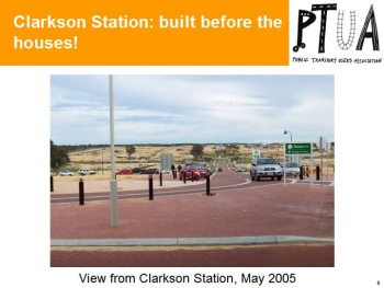 Clarkson Station - Built before Houses